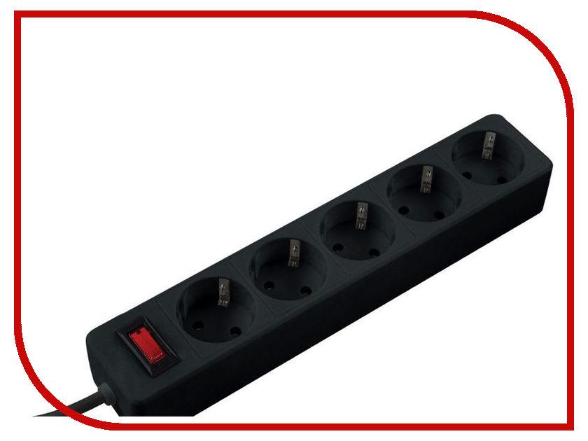 Сетевой фильтр Космос 5 Socket 3m Black FKsm3m-5g сетевой фильтр космос 5 socket 3m black fksm3m 5g