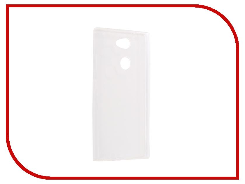 Аксессуар Чехол для Sony L2 Pero Silicone Transparent аксессуар чехол для sony xperia xa1 ultra brosco silicone transparent xa1u tpu transparent