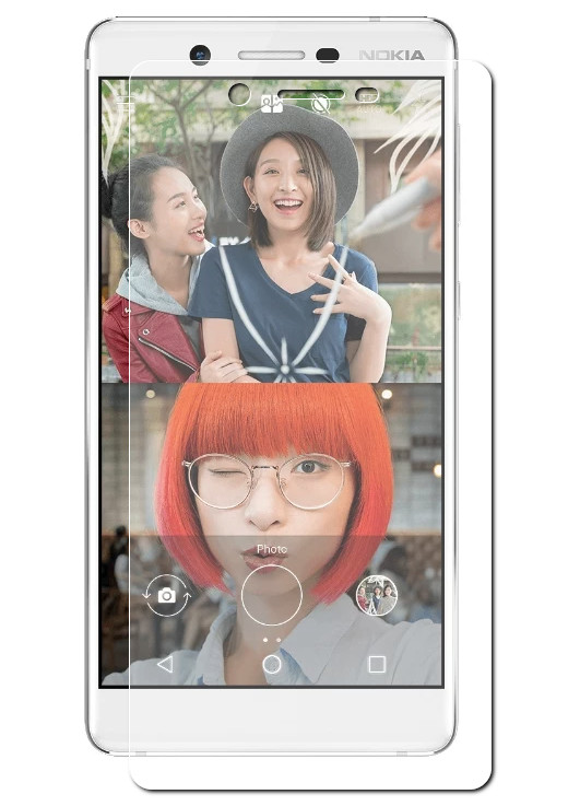 Защитное стекло Pero для Nokia 7