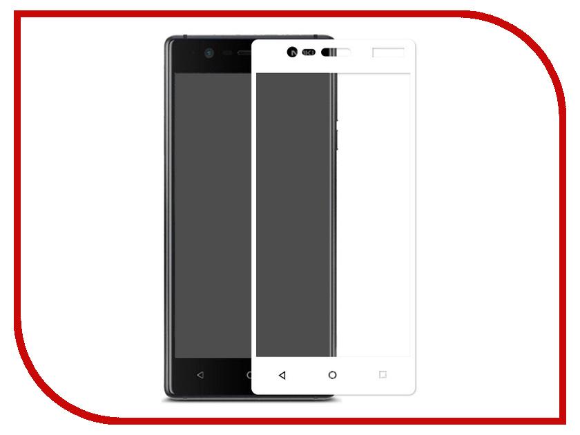 Аксессуар Защитное стекло Nokia 3 Pero 2.5D White