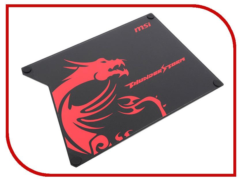 Коврик MSI Thunderstorm Aluminum Gaming GF9-V000001-EB9 msi original zh77a g43 motherboard ddr3 lga 1155 for i3 i5 i7 cpu 32gb usb3 0 sata3 h77 motherboard