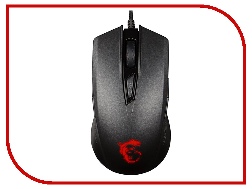лучшая цена Мышь MSI Clutch GM40 GAMING Black S12-0401340-D22