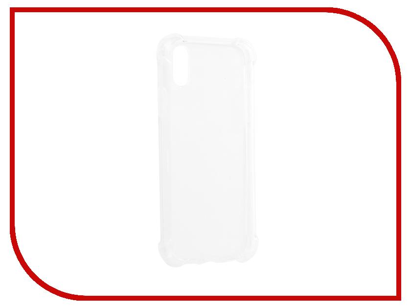 Аксессуар Чехол Innovation для APPLE iPhone X White 11432 чехол для iphone interstep для iphone x soft t metal adv красный