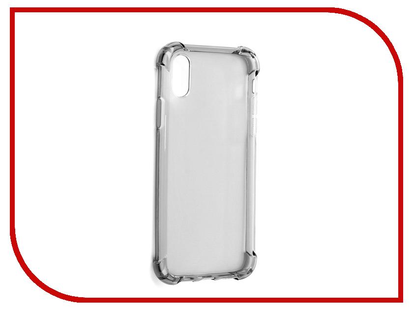 Аксессуар Чехол Innovation для APPLE iPhone X Black 11431 чехол для iphone interstep для iphone x soft t metal adv красный