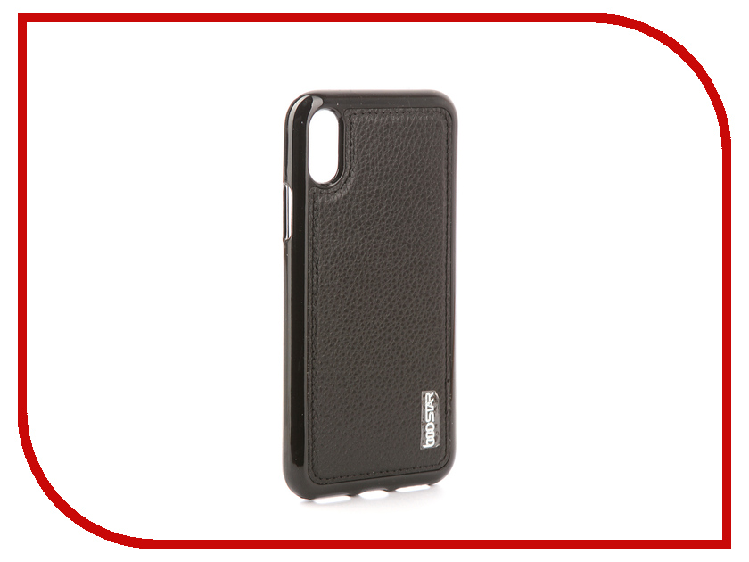 Аксессуар Чехол для APPLE iPhone X Innovation Boostar Black 11433 аксессуар чехол для apple iphone x innovation silicone black 12214