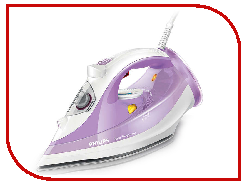 Утюг Philips GC3803/37 Azur Performer White-Purple