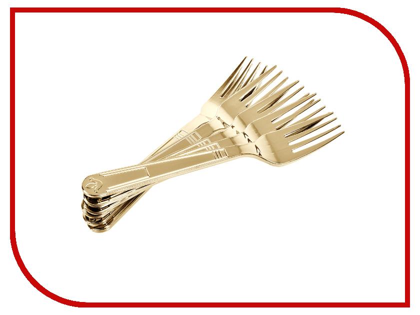 Набор вилок Boyscout Premium Gold 61716 одноразовые