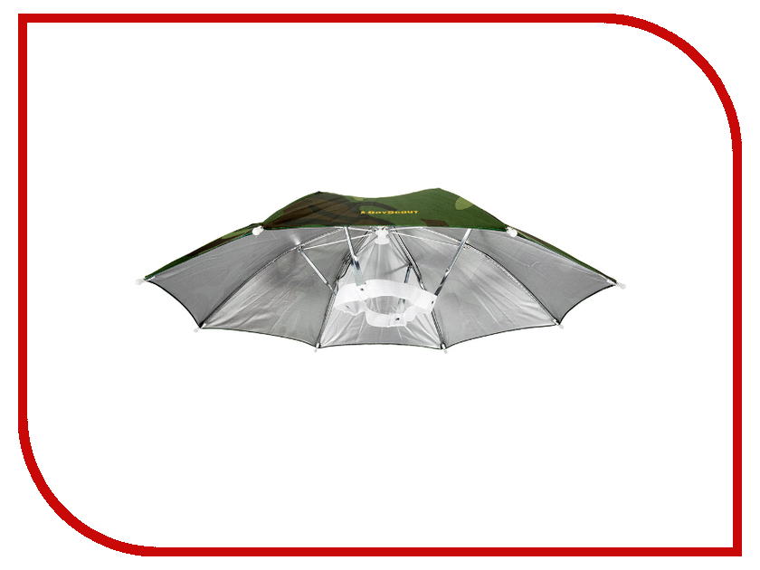 Шляпа-зонтик Boyscout Вьетконг 61482 шляпа накомарник с кольцом и шнуром для фиксации boyscout 61449