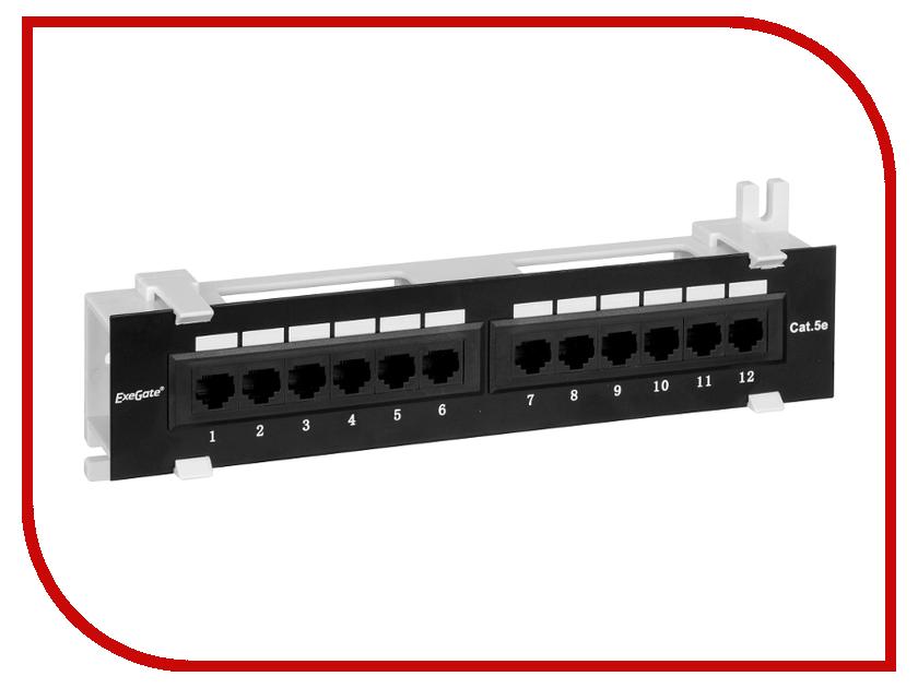 Коммутационная панель Патч-панель ExeGate 256754 пули ts 218b 5 бит переключатель управления 4 8 м общая розетка вилка строк коммутационная панель