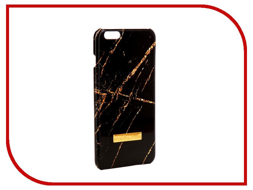 Аксессуар Чехол Mamba Case Black-Gold APPLE iPhone 6 Plus чехол apple leather case для iphone 6 6s plus