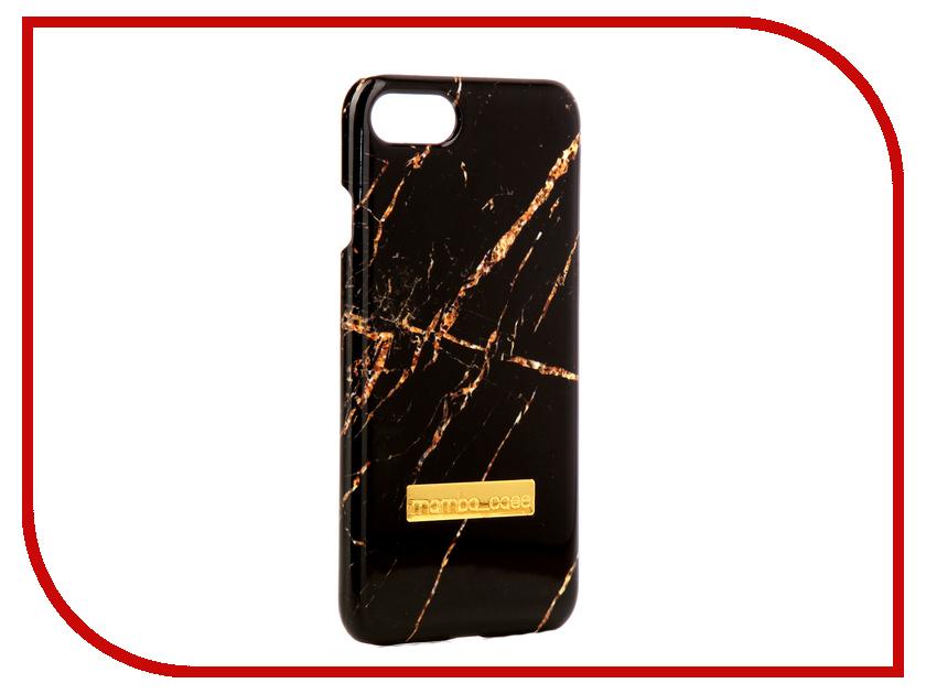 Аксессуар Чехол Mamba Case Black-Gold APPLE iPhone 7 / 8 аксессуар чехол innovation jeans для apple iphone 7 8 white 10774