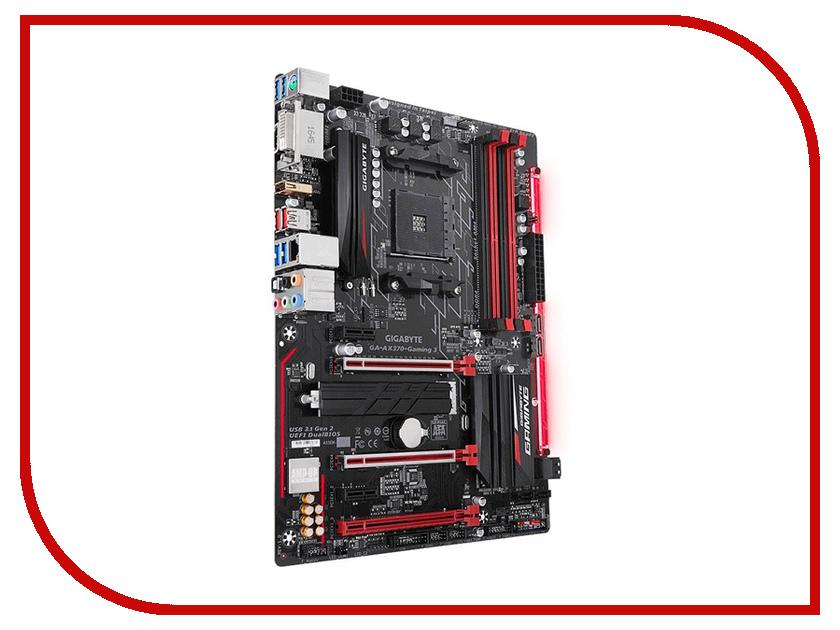 Материнская плата GigaByte GA-AX370-Gaming 3 компьютер gigabyte brix gaming vr