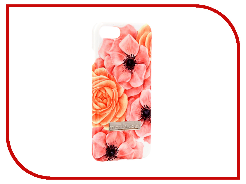 Аксессуар Чехол Mamba Case Anemones APPLE iPhone 7 / 8 аксессуар чехол innovation jeans для apple iphone 7 8 white 10774