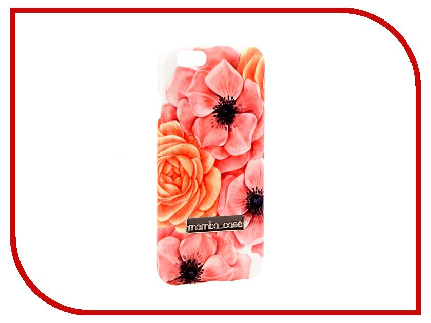 Аксессуар Чехол Mamba Case Anemones APPLE iPhone 6 / 6S iphone 6s slim case arte nº draw hand