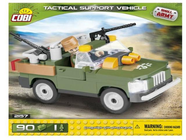 Конструктор Cobi Small Army Тактический автомобиль поддержки 90 дет. 2157
