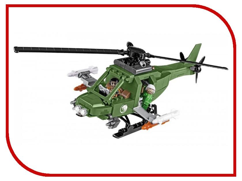 Конструктор Cobi Small Army Дикий боевой вертолет 200 дет. 2158