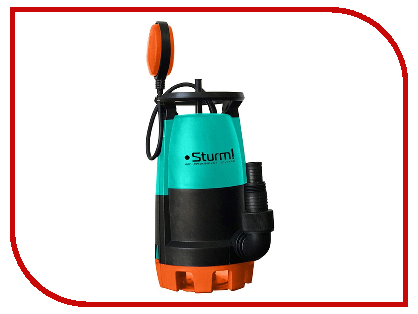 Насос Sturm! WP9745PU стамеска sturm 14мм 10630114