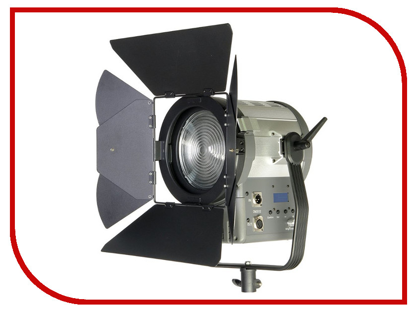 Осветитель GreenBean Fresnel 200 LED X3 DMX 25244
