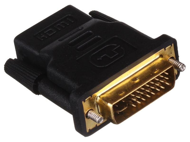 цена на Аксессуар Переходник ExeGate DVI-D (M) - HDMI (F) 191105