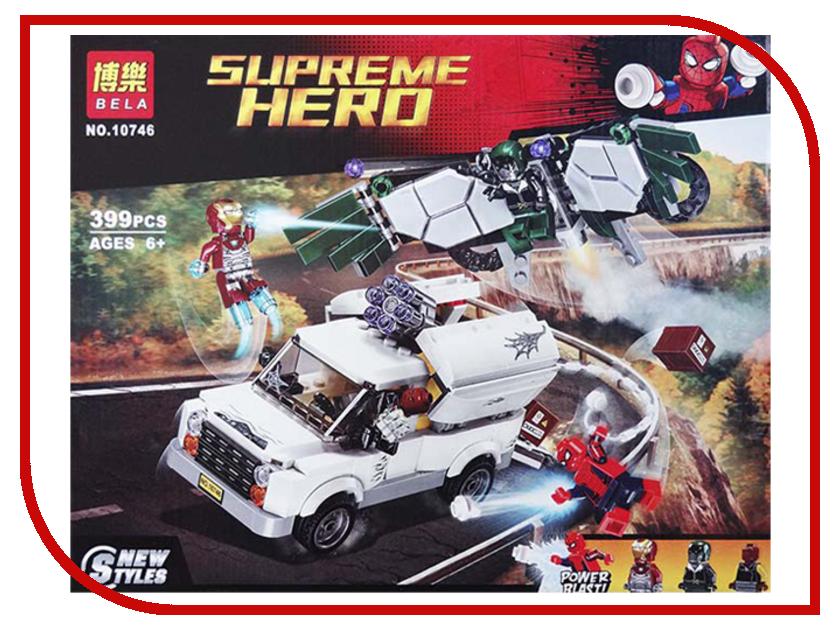 Конструктор Bela Supreme Hero Берегись Стервятника 399 дет. 10746 конструктор bela supreme heroes ограбление банкомата 207 дет 10742