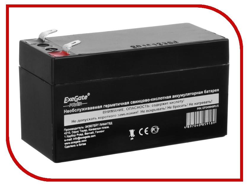 Аккумулятор для ИБП ExeGate Power EXG12013 269857 аккумулятор для ибп apc 106 apcrbc106
