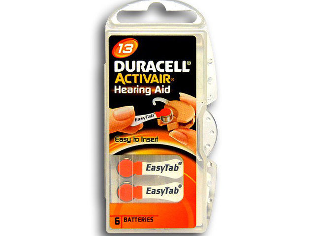 Аксессуар Duracell ActiveAir Nugget Box ZA13 DA13/6BL