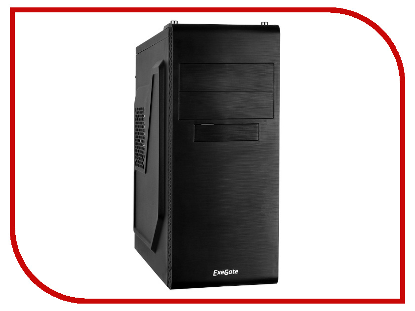 Корпус ExeGate UN-603 w/o PSU Black