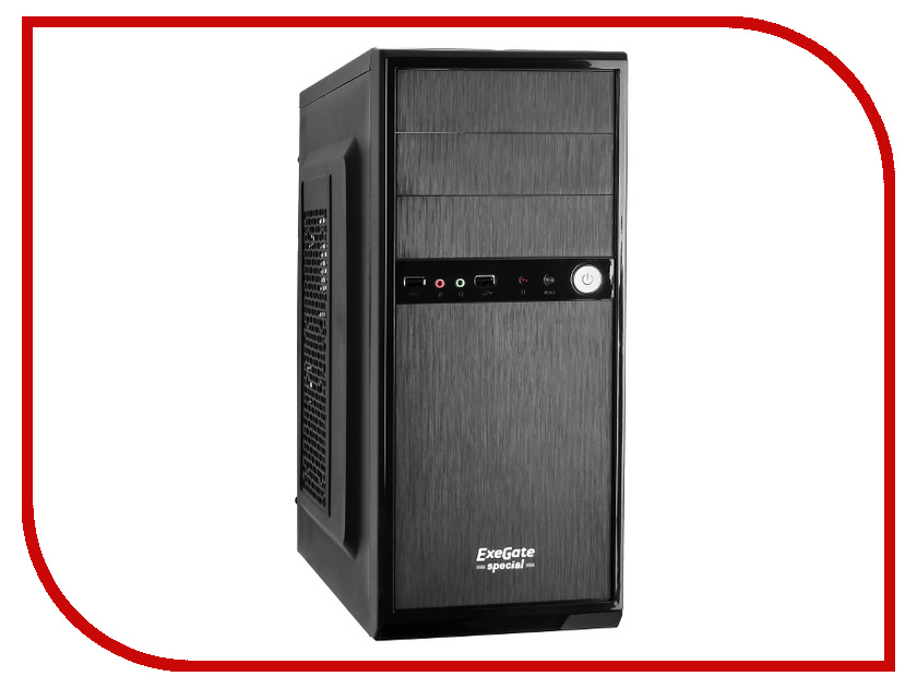 Корпус ExeGate AA-326 500W Black
