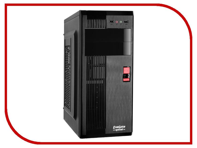 Корпус ExeGate AA-325 400W Black