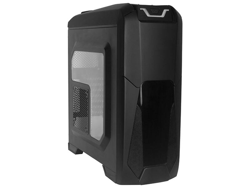 Корпус ExeGate EVO-8201 w/o PSU Black