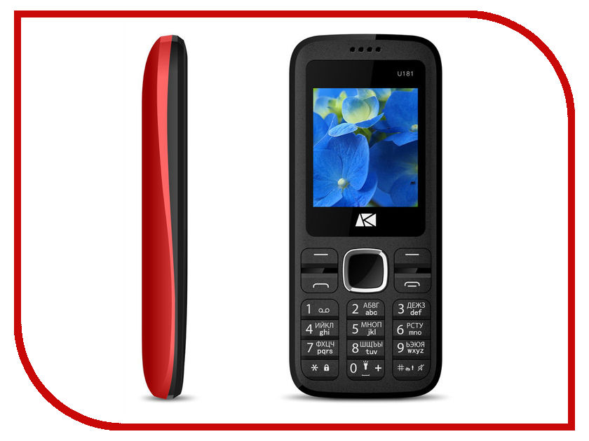 Сотовый телефон Ark Benefit U181 Red
