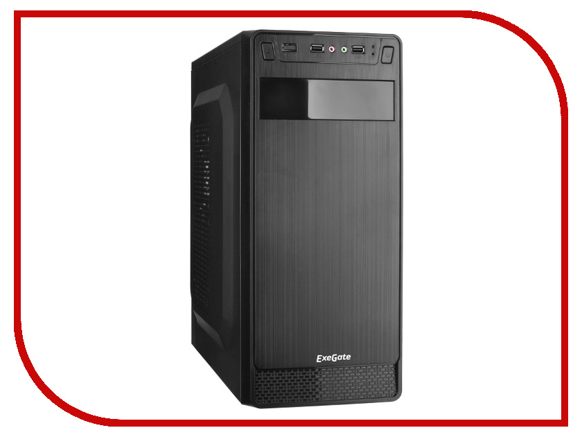 Корпус ExeGate AB-222 w/o PSU Black корпус gmc eco w o psu black