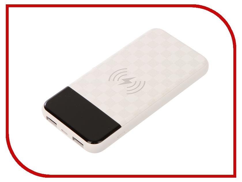 цена на Аккумулятор Devia JU Wireless 8000mAh White
