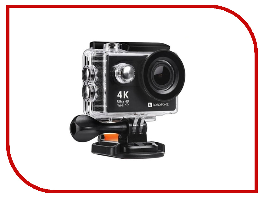 Экшн-камера Borofone BD1 4K Sport Kit Black