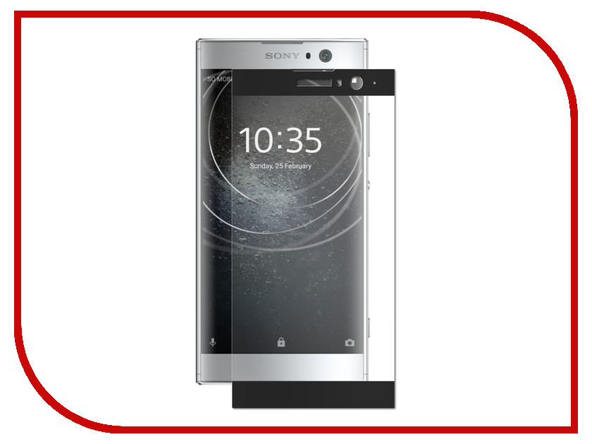 Аксессуар Защитное стекло для Sony Xperia XA2 LuxCase 3D Black Frame 77914 аксессуар защитное стекло sony xperia xa1 luxcase 0 33mm 82170