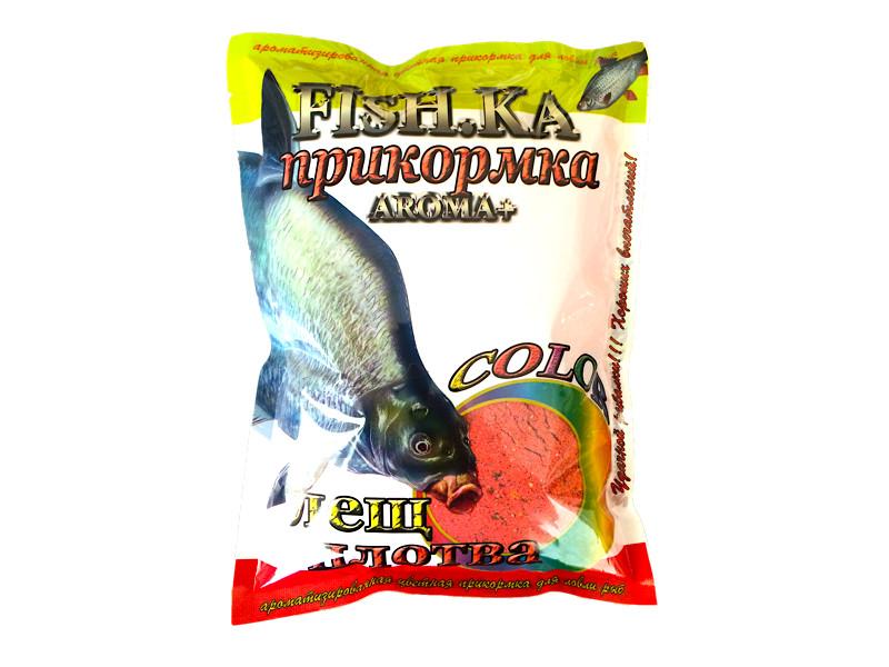 Прикормка Fish.ka Color Красный 1kg
