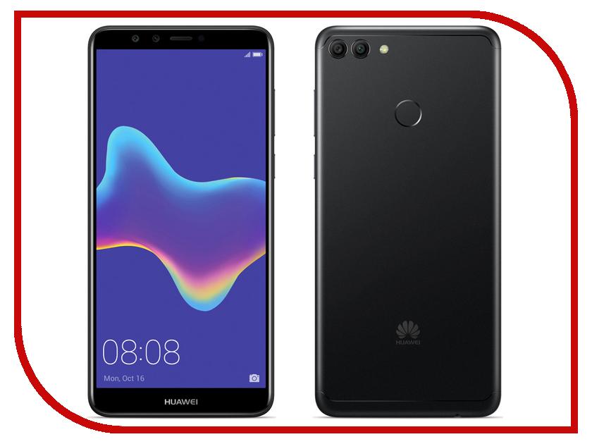 Сотовый телефон Huawei Y9 (2018) Black shs красный huawei y9 2018