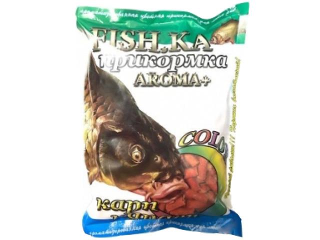 купить Прикормка Fish.ka Карп-Карась Анис Гранулы 8mm 0.8kg