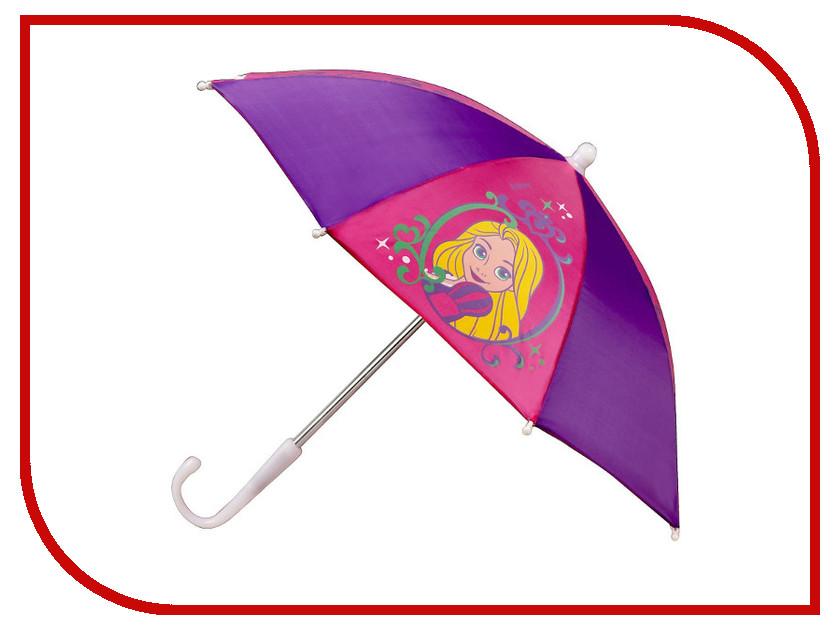 Зонт Disney Принцесса Рапунцель 1861296 мягкие игрушки карапуз кукла мульти пульти disney принцесса рапунцель