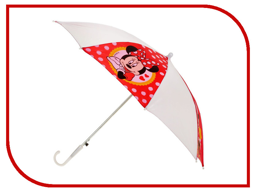 Зонт Disney Самая Классная Минни Маус 1861303 amscan спираль disney минни маус 12 шт