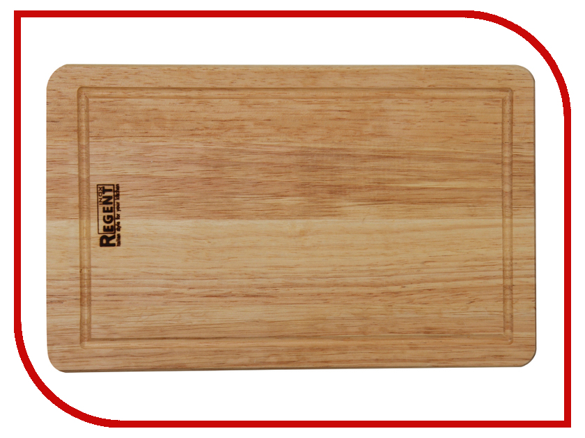 Доска разделочная Regent Inox Bosco 40x25x1.5cm 93-BO-2-04.1 кастрюля 21 л regent master inox 93 mi23