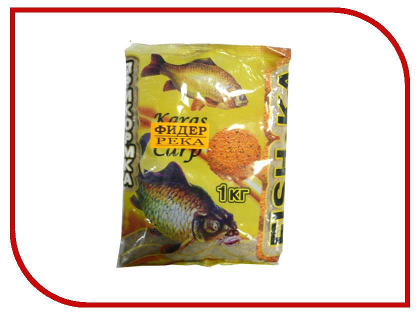 Прикормка Fish.ka Фидер Река 1kg