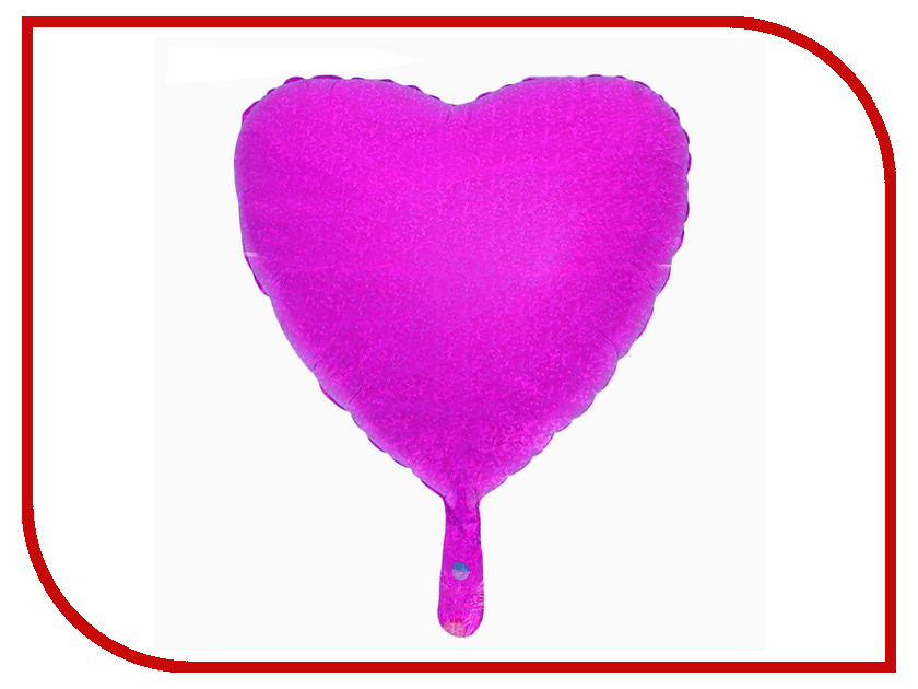 Шар фольгированный СИМА-ЛЕНД Сердце 18 Fuchsia 2796451