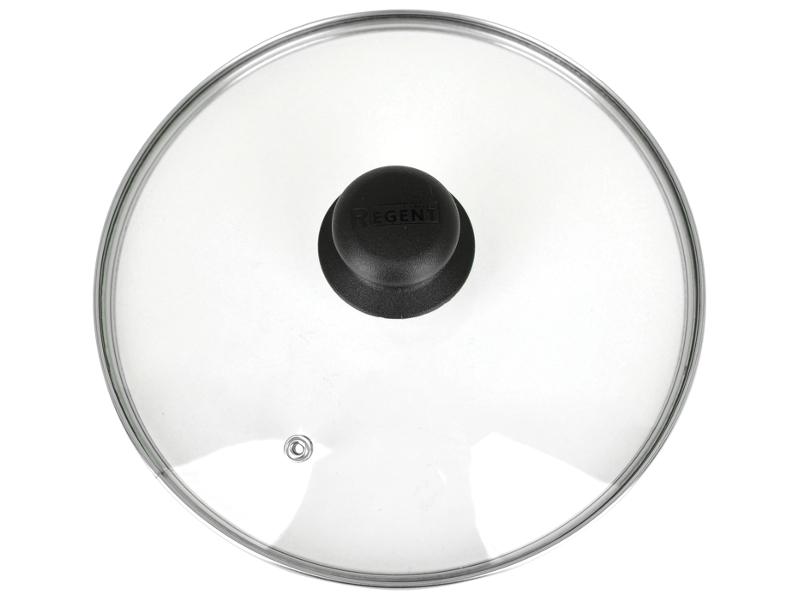 Крышка Regent Inox 30cm с пароотводом 93-LID-01-30