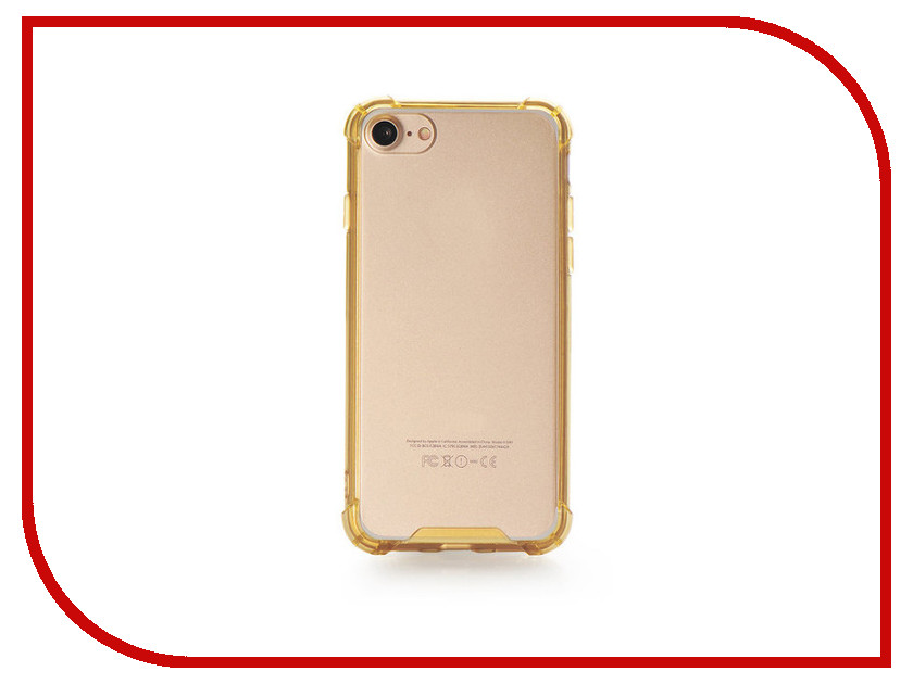 Аксессуар Чехол Gurdini Lims 3 для APPLE iPhone 7 Champagne аксессуар чехол ipapai ассорти панды для apple iphone 7 120503 7