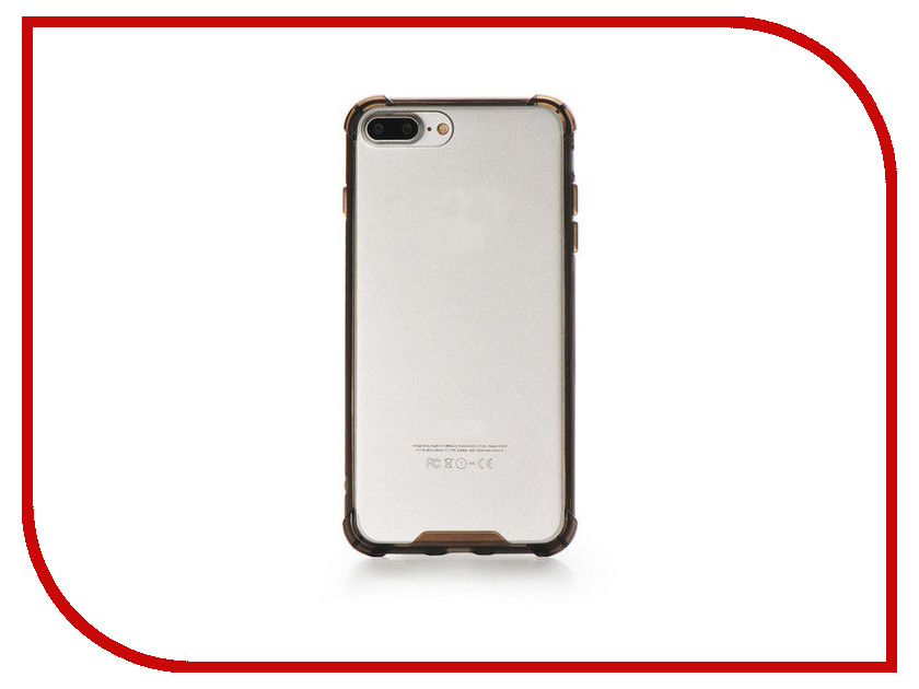 Аксессуар Чехол Gurdini Lims 3 для APPLE iPhone 7 Plus Graphite чехол накладка iphone 6 plus lims sgp spigen стиль 7 620026