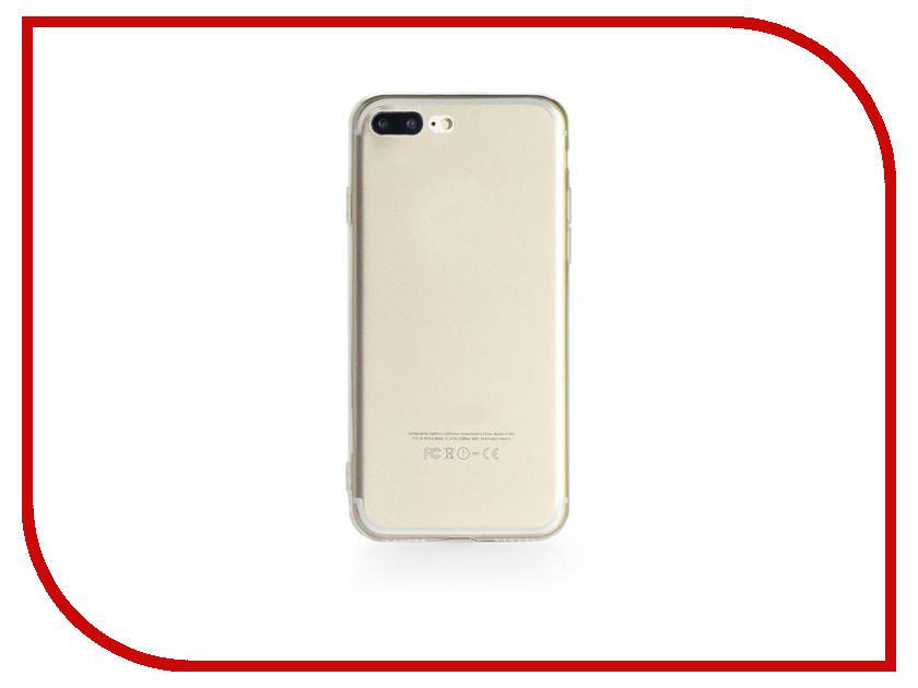 Аксессуар Чехол Gurdini Ultrathin Silicone для APPLE iPhone 7 Plus Transparent все цены