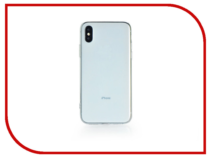 Аксессуар Чехол Gurdini Ultrathin Silicone для APPLE iPhone X 58 Transparent 904644