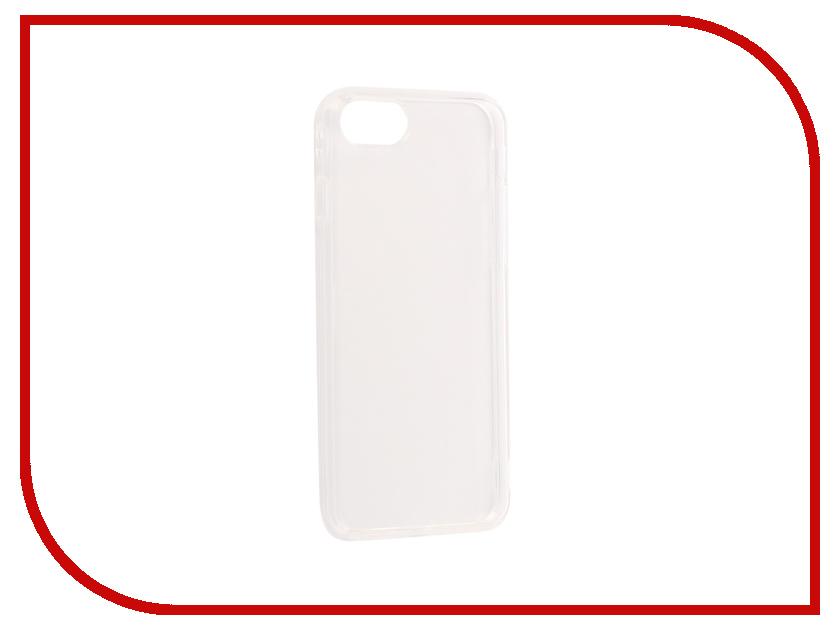 Аксессуар Чехол Gurdini Dense Silicone 0.4mm для APPLE iPhone 7 / 8 Transparent все цены
