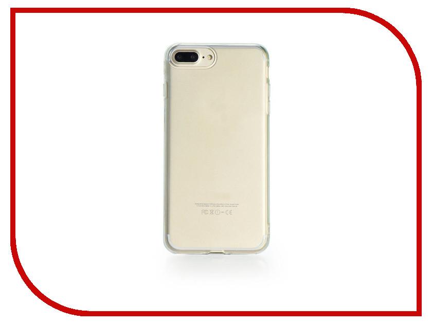 Аксессуар Чехол Gurdini Dense Silicone 0.4mm для APPLE iPhone 7 / 8 Plus Transparent все цены